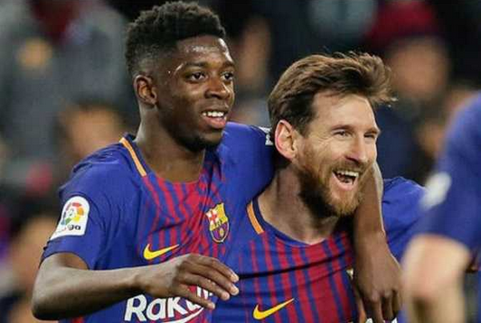 Ousmane and Messi