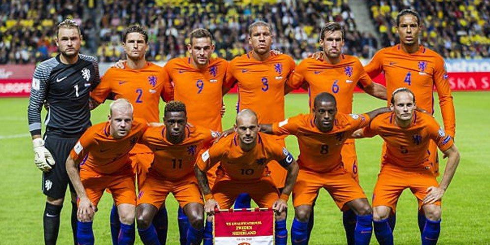 Pasukan Oranye melawan Jerman di fase akhir