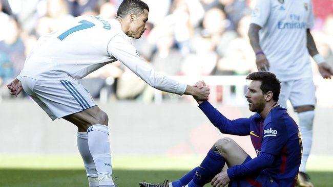 Kapten tim asal Juventus, Giorgio Chiellini menayatakan bahww Cristiano Ronaldo dan Lionel Mesii memiliki kesamaan dengan dua petinis papan atas