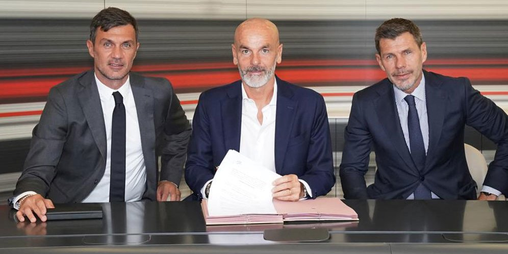 AC Milan menunjuk pelatih ketujuh dalam waktu kurang dari enam tahun