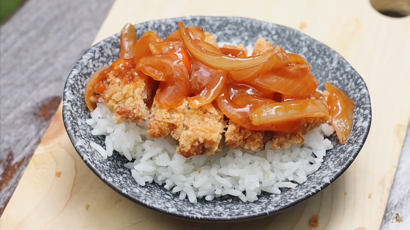 Resep Chicken Katsu Saos Asam Manis Pedas